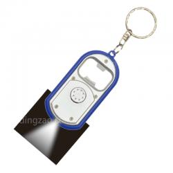 Flashlight Keychain With Bottle Opener