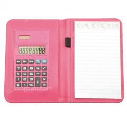 Wallet Memo Pad with Calculator