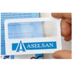 Credit Card Size Magnifier