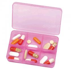 6 Compartment Pill Box