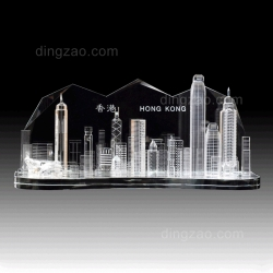 Victoria Harbour Crystal Series (25 x 7 x 11 cm)