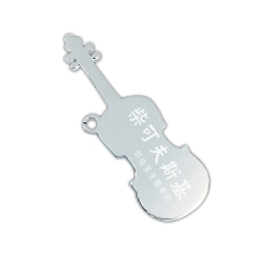 Violin-shape Steel Tag