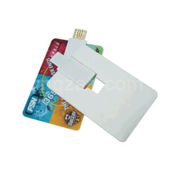 Credit Card Size USB Flash Drive (1GB)