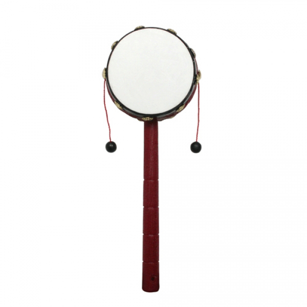 Chinese Traditional Handshake Drum (8.0 x 24cm)