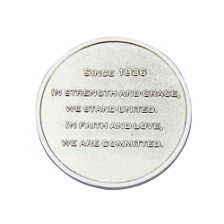 Gold-plated Commemorative Coin (4cm)