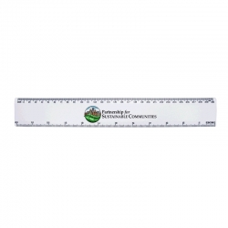 12in/30cm Plastic Ruler