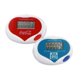 Heard-shape Stepper Pedometer