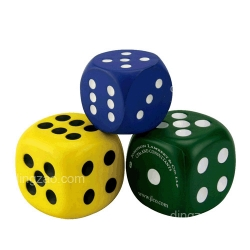 Dice-shape Stress Ball