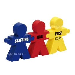 Teamwork Puzzle Set Stress Ball