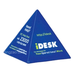 Pyramid-shape Stress Ball