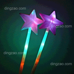 Star-shape Flashing Light Stick (37 x 10cm)