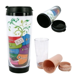 Translucent Mug Tumbler (380 ml)