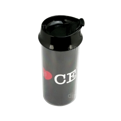 Tumbler with Slider Lid