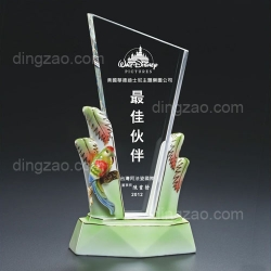 Ceramic Crystal Trophy (Strip Shape)