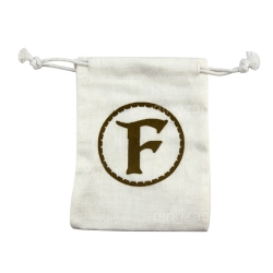 Small Canvas Drawstring Bag