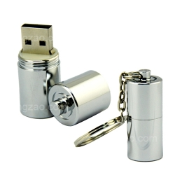Cylindrical Metal USB Stick