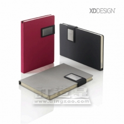 Prestige Notebook with Magnetic Closure