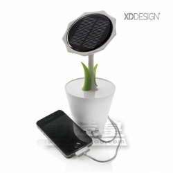 Sunflower Solar Flower Charger