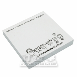 Sticky Note Paper (7.4 x 7.4cm/100 sheets)