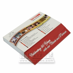 Slant-cut Memo Pad with Hard Cover (8 x 10cm/100 sheets)
