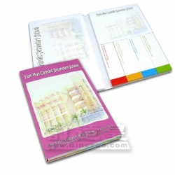 Combined Sticky Memo Pad (15.0 x 19.9cm/50 sheets)