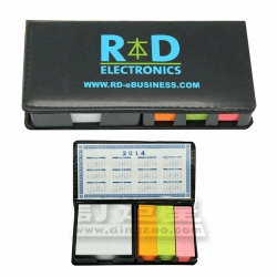 Multi-Compartment Memo Holder With Calendar Card