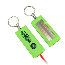 Solar Flashlight with Compass and Laser Light